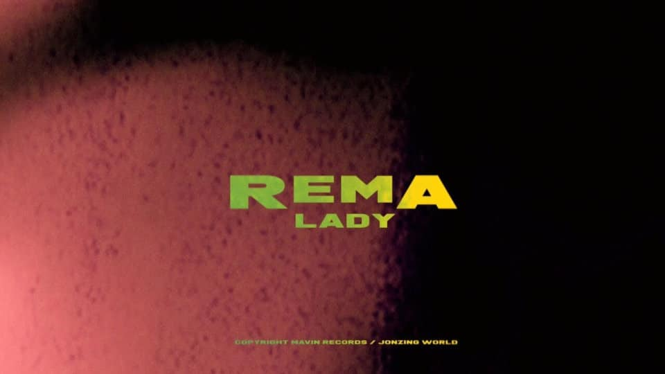 Rema's Lady artcover